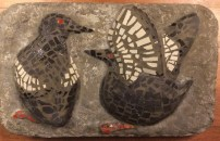 Mosaik-Relief. Tejster, 1963- 54x78