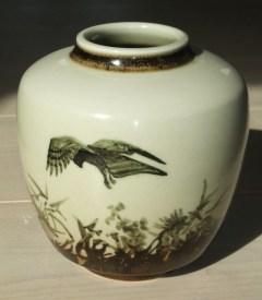Musvåge, Kgl. Porcelæn, 1960, højde 15 cm
