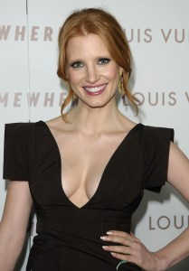 Jessica Chastain, hot chick of the week.