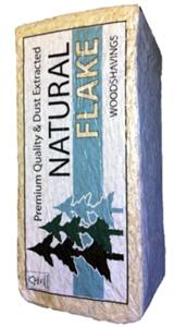 Shavings-natural flake