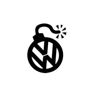 VW Bomb Decal