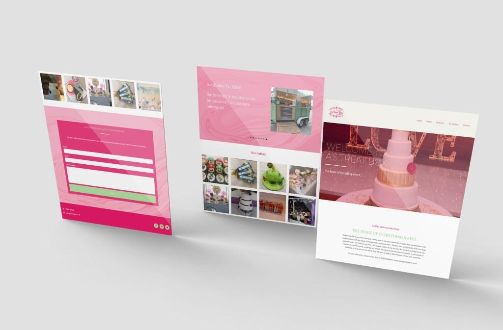 A's Treat Box Website