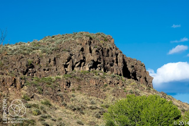 Rocky Basalt Bluffs of Cowiche Canyon