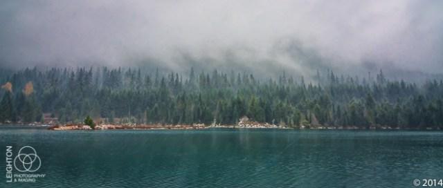 Across the Alpine Lake