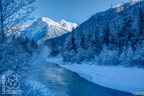 Illecillewaet River and the Mountains of Rogers Pass