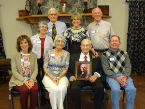 John Moon's 100th Birthday Party, April, 2016 in Macomb, IL.