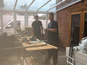 Kev and Dan from Reddibuild