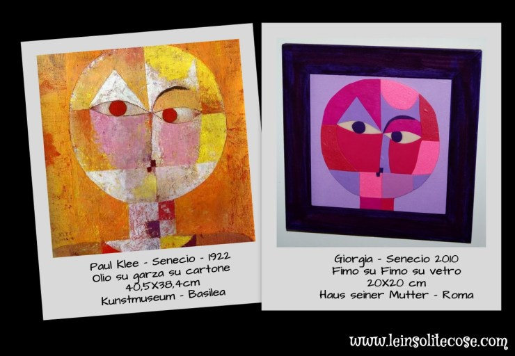 SENECIO BY PAUL KLEE vs SENECIO BY GIORGIA