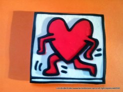 Keith Haring Tribute- Be my valentine - 2013