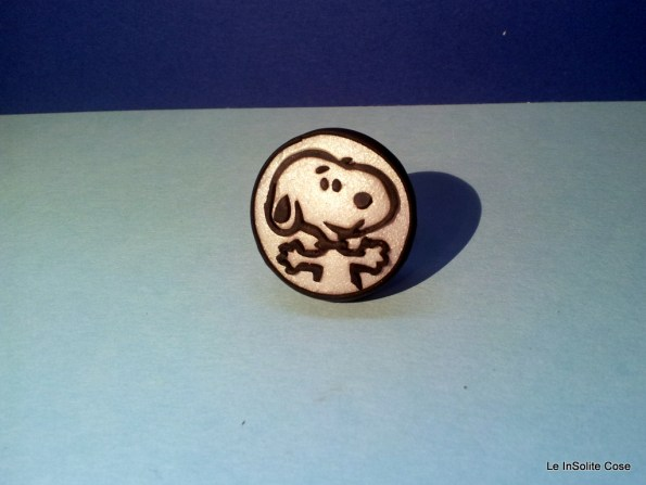 Anello Snoopy - realizzato su commissione. 2012