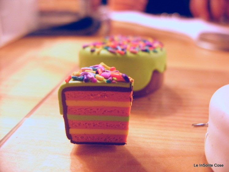Making of MultiLayer Fimo Cakes for keychains, earrings and magnets (2)