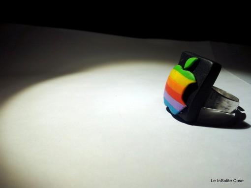 Vintage Apple Logo Fimo Ring - 2013 - www.leinsolitecose.com  (3)