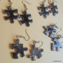 Puzzle Project - earring out of an old jigsaw - www.leinsolitecose.com (16)