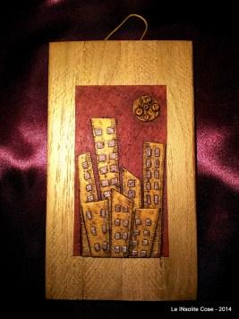 City of Gold - Disegno in Rilievo - Handmade with Fimo - le INsolite Cose - www.leinsolitecose.com (1)