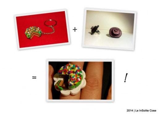 sinergia di idee creative anello torta - le insolite cose