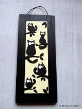 Quadro gatti - fondo vaniglia
