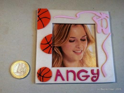 Cornice portafoto con palle da basket e scarpette da danza - per Angy - Le INsolite Cose (2)