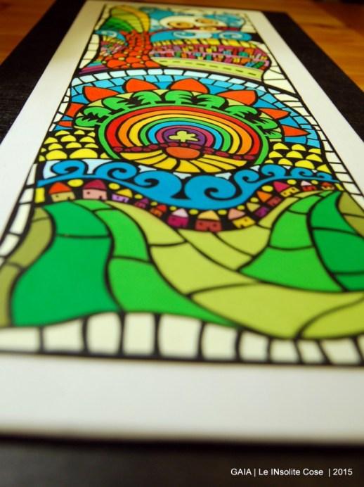 GAIA - Quadro in paste polimeriche realizzato a mano - in VI concorso artigianato artistico Sapere delle Mani di Nazzano - Le INsolite Cose 2015 (5)