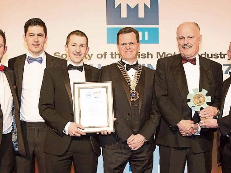 Kildare town's Fitzpatrick's win top motoring industry award