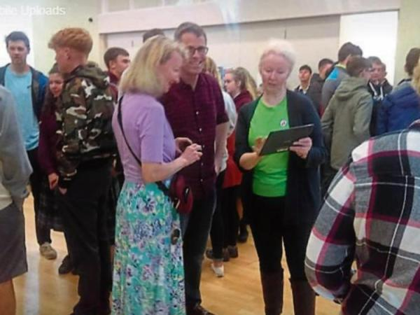 US visitors arrive in Rathangan for international project ...