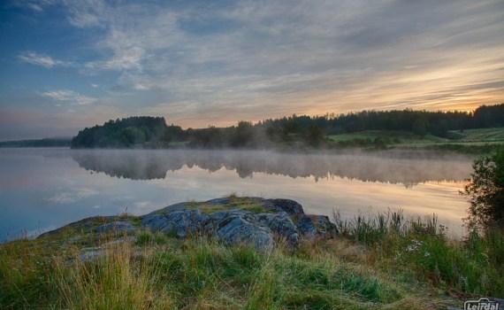 Sunrise at Årungen