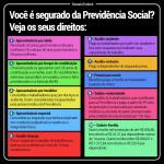 Conheça os direitos de quem é segurado da Previdência Social