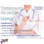 Licença para Tratamento de saúde de Trabalhadores regidos pela CLT