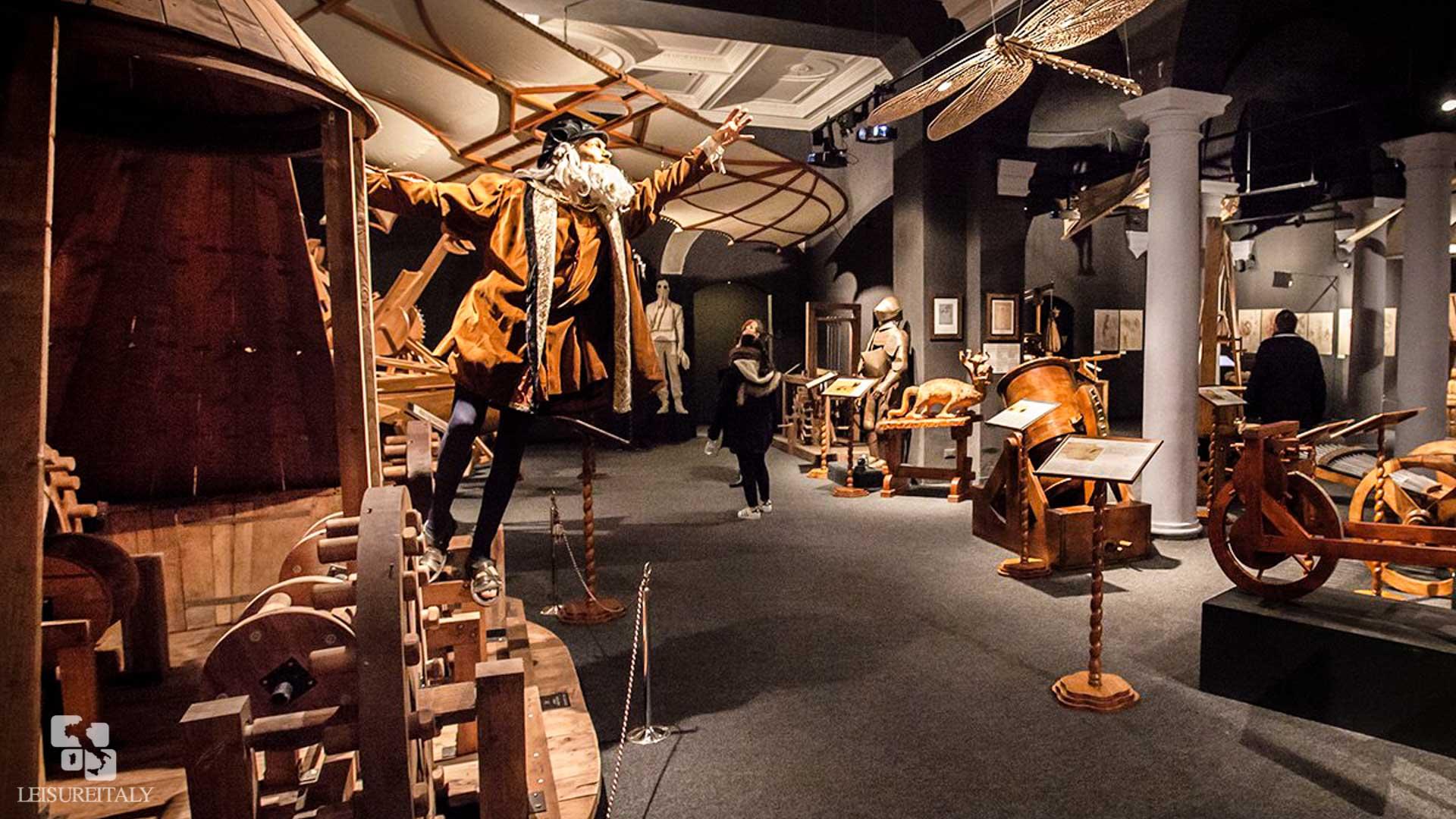 Leonardo Da Vinci Museum In The Heart Of Florence