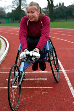 Paralympic hopeful Hannah Cockroft