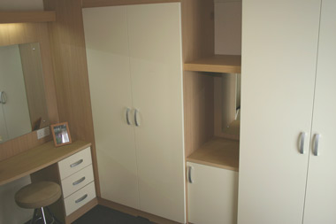 Fitted wardrobes in the Swift Moselle