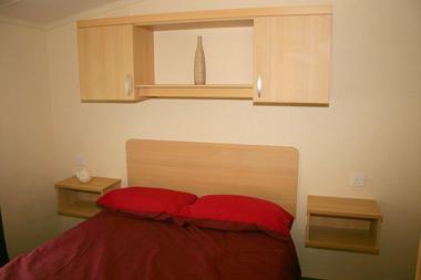 Swift Burgundy Double Bedroom