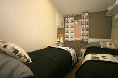 Willerby meridian twin bedroom