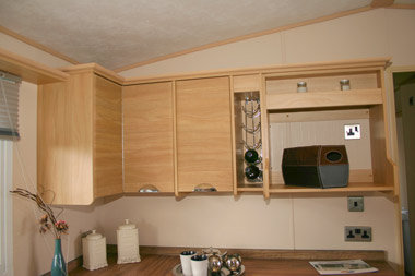 ABI Ambleside Static Caravan Kitchen Storage