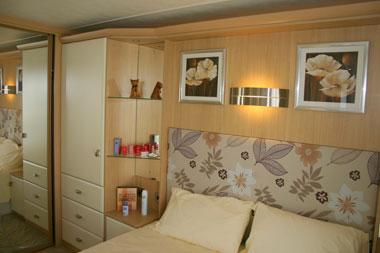 Carnaby Rosedale Static Caravan Master Bedroom