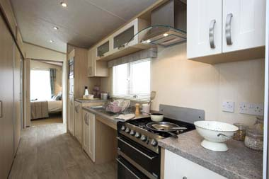 Pemberton Harmony Static Caravan Kitchen
