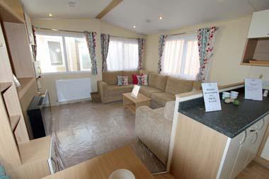 2014 Regal Regency Static Caravan Living Room