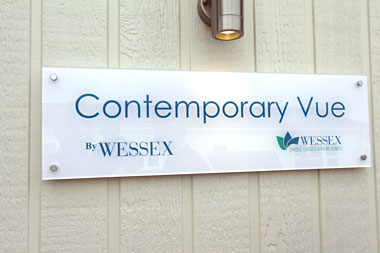 Wessex Contemporary Vue - Badge
