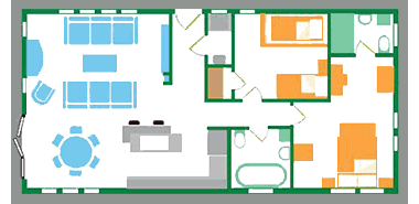 Casa Di Lusso - Floor Plan