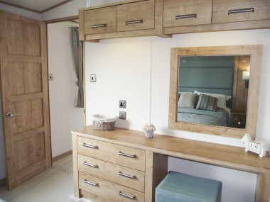 Westwood Double Bedroom Vanity Unit