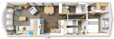 Willerby Winchester Floor Plan