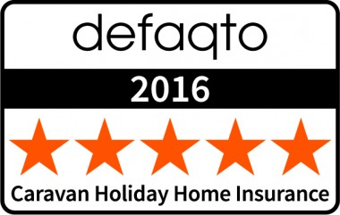 Defaqto 5 star rating Caravan Holiday Home insurance