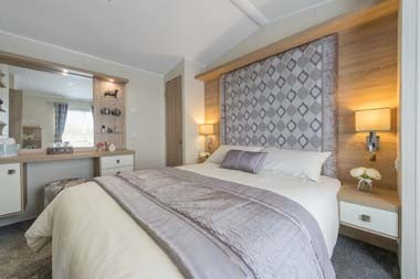 Willerby Sheraton Master Bedroom Wide Angle