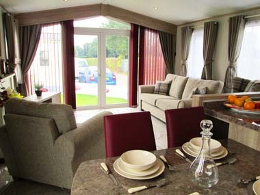 Carnaby Helmsley Lounge and patio doors