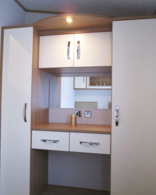 Serenade Twin Room Storage & Vanity