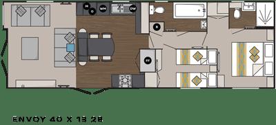 Carnaby Envoy floor plan