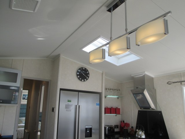 Carnaby Envoy pendants and rooflight