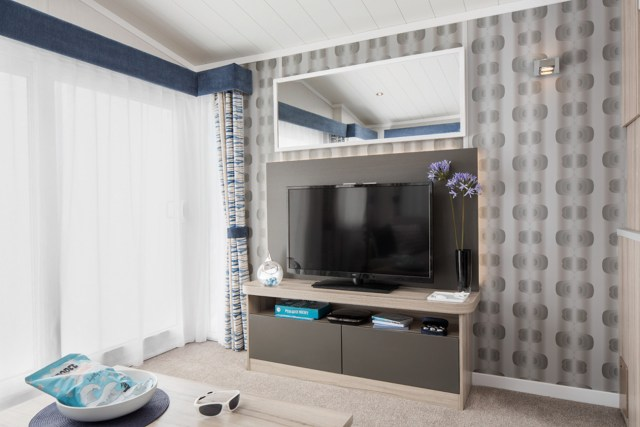2017 Swift Antibes TV and Feature Wall