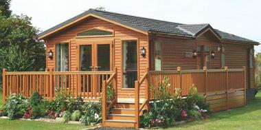 Caravan veranda and decking