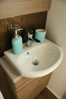 Static caravan bathroom accessories
