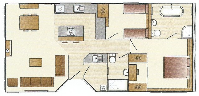 Swift Whistler Lodge Floor Plan